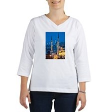 Sehzade Mosque Women's Long Sleeve Shirt (3/4 Sleeve)