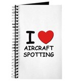 I love aircraft spotting Journal