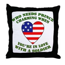 Soldier - Prince Charming Throw Pillow