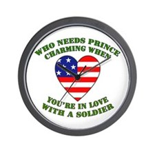 Soldier - Prince Charming Wall Clock