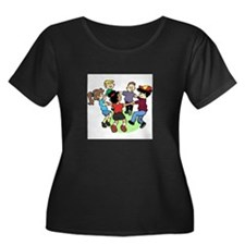 Peace Among Children Women's Plus Size Scoop Neck