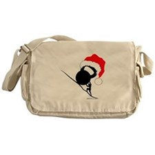 Sisyphus Kettlebell Christmas Messenger Bag