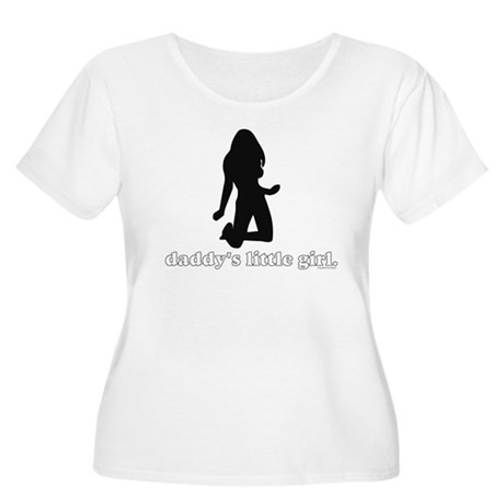 Daddy's Girl Women's Plus Size Scoop Neck T-Shirt