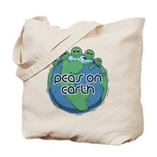 Peas (Peace) on Earth Tote Bag
