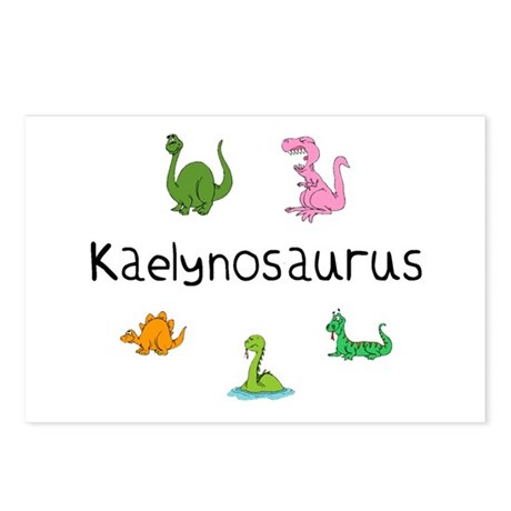Kaelynosaurus Postcards (Package of 8)