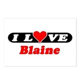 I Love Blaine Postcards (Package of 8)