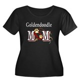 Goldendoodle Mom Women's Plus Size Scoop Neck Dark
