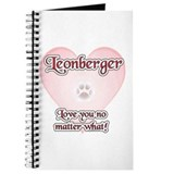 Leonberger Love U Journal