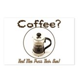 French Press Men Postcards (Package of 8)