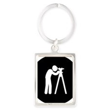 Land-Surveyor-AAB1 Portrait Keychain