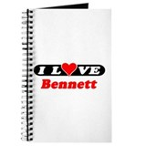 I Love Bennett Journal