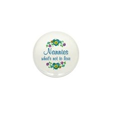 Nannies to Love Mini Button (10 pack)