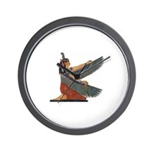 Goddess Maat Wall Clock