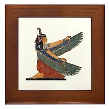 Goddess Maat Framed Tile