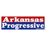 Arkansas Progressive Bumper Sticker