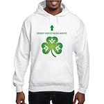 Irish Masons Green Beer Instructions Hooded Sweat
