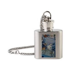 Surgeons operating on patient Flask Necklace