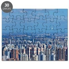 Groups of buildings Puzzle