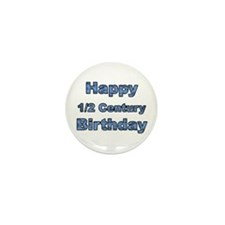50th Birthday Mini Button (10 pack)