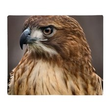 Red tailed hawk Throw Blanket