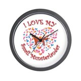 Love Munsterlander Wall Clock