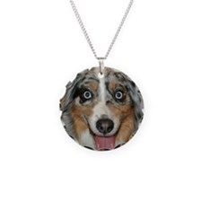 Miniature Aussie dog Necklace
