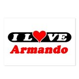 I Love Armando Postcards (Package of 8)