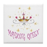 MAHJONG QUEEN Tile Coaster