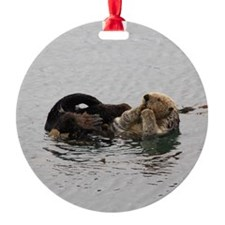 California Sea Otter Ornament