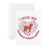 Love Griffon Greeting Cards (Pk of 10)
