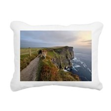 Cliffs of Moher, Ireland Rectangular Canvas Pillow