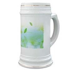 Whirlpool and Leaves Stein