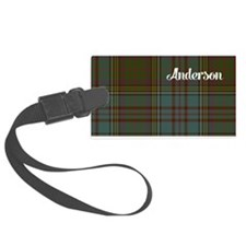 Anderson Tartan Large Luggage Tag