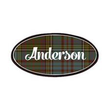 Anderson Tartan Patches