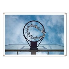 Basketball hoop Banner