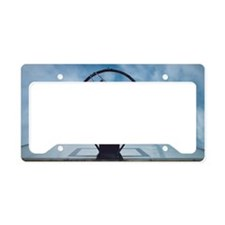 Basketball hoop License Plate Holder