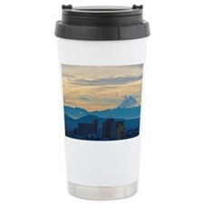 Mexico City and Popocat Travel Mug