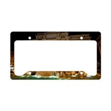 Trevi fountain License Plate Holder