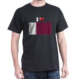 I love Qatar Flag T-Shirt