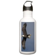 "Bald Eagle-""wing over"" Water Bottle"