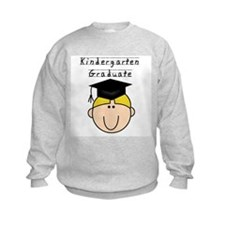 Boy Kindergarten Grad (blond) Sweatshirt