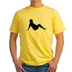 Yellow Mud Flap Bear T-Shirt