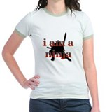 I Am A Ninja - Girl's T-shirt