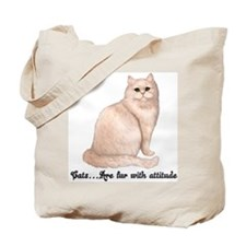 Cat Attitude Tote Bag