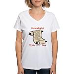 Genealogy Wish List Women's V-Neck T-Shirt