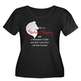 He's NOT a Collie Women's Plus Size Scoop Neck Dar