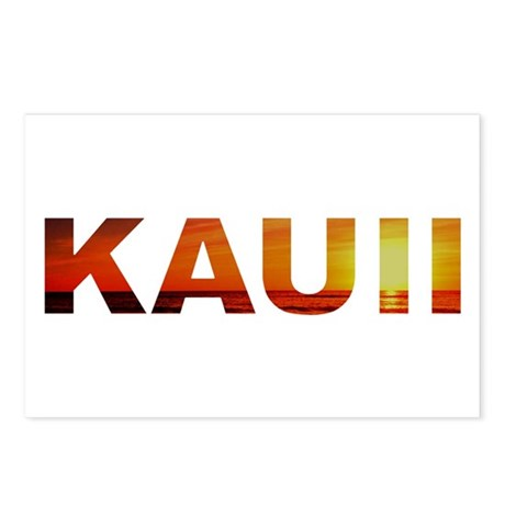 Kauai, Hawaii Postcards (Package of 8)