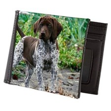 German shorthaired pointer puppy Mens Wallet