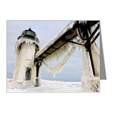 St. Joseph lighthouse Note Cards (Pk of 20)
