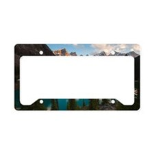 lake moraine License Plate Holder